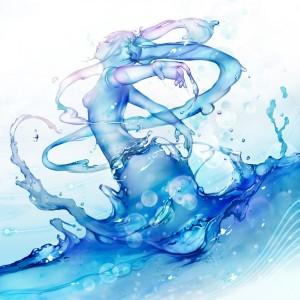 femme eau